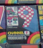 Videocart 9: Drag Race (Fairchild Channel F)
